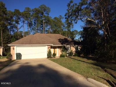 Diamondhead Single Family Home For Sale: 8412 Kaleki Pl