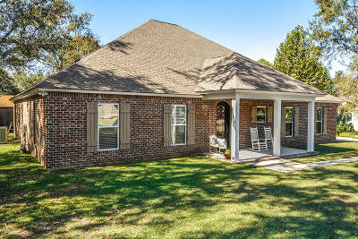 Gulfport Single Family Home For Sale: 857 Reed Ln