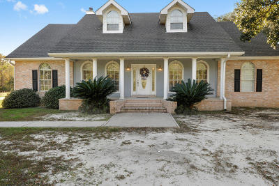 Bay St. Louis Single Family Home For Sale: 1505 Blue Meadow Rd