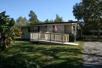 Waveland Single Family Home For Sale: 1025 Dicks St