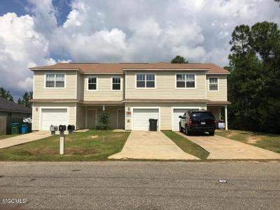 Ocean Springs Multi Family Home For Sale: 8592 Spring Ave