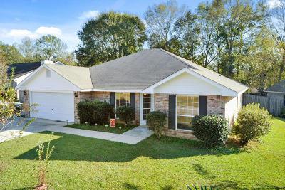 Gulfport Single Family Home For Sale: 12240 Amanda Way