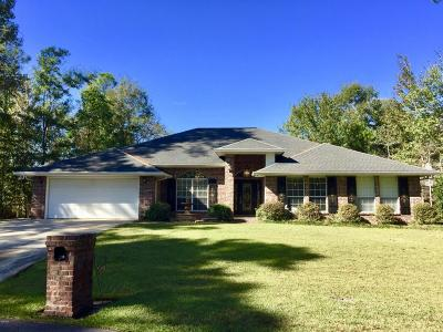 Diamondhead Single Family Home For Sale: 7210 Ahi Ct