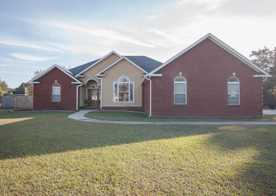 Ocean Springs Single Family Home For Sale: 8305 Rosewood Dr