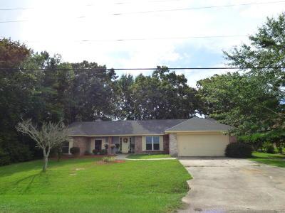 Diamondhead Single Family Home For Sale: 551 Golf Club Dr