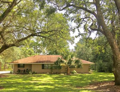 Long Beach Single Family Home For Sale: 19259 Pineville Rd