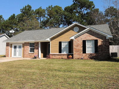 Gulfport Single Family Home For Sale: 14052 Woodmont Dr