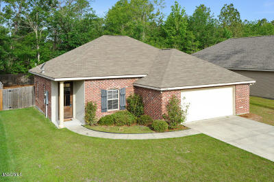 Gulfport Single Family Home For Sale: 11556 Caroline Ct