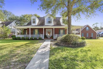 Ocean Springs Single Family Home For Sale: 3429 Dijon Ave