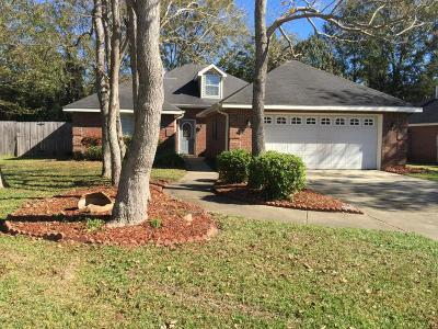 Gulfport Single Family Home For Sale: 13334 E Carriage Cir