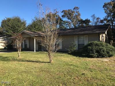 Biloxi Single Family Home For Sale: 2225 Popps Ferry Rd