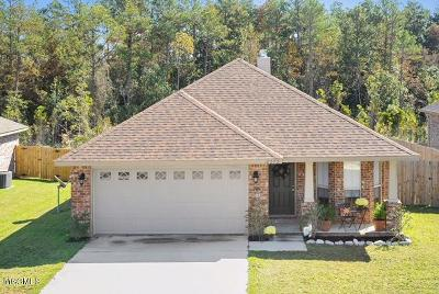 Gulfport Single Family Home For Sale: 18272 Cardinal Ln