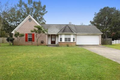 Biloxi Single Family Home For Sale: 9683 W Oaklawn Rd