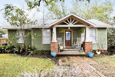 Ocean Springs Single Family Home For Sale: 708 Magnolia Ave