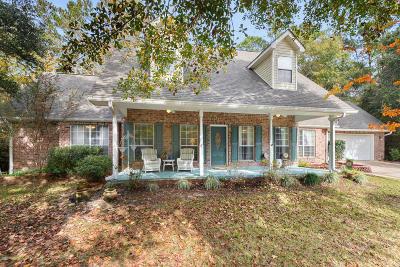 Diamondhead Single Family Home For Sale: 9512 Kale St