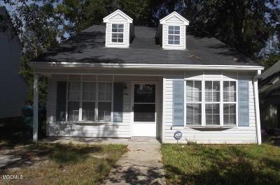 Gulfport Single Family Home For Sale: 13472 Windridge Dr