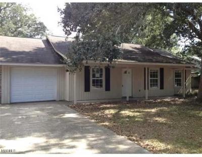 Ocean Springs Single Family Home For Sale: 1520 Doe St