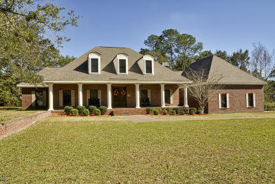 Ocean Springs Single Family Home For Sale: 5506 Caymus Cv