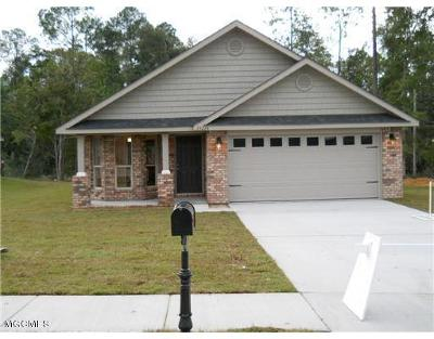 Gulfport Single Family Home For Sale: Lot 68 Roundhill Dr