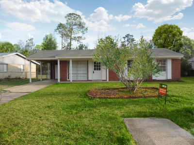 Biloxi Single Family Home For Sale: 15404 Orleans Dr