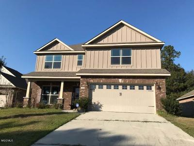Biloxi Single Family Home For Sale: 760 Bay Breeze Dr