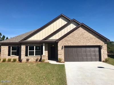 Ocean Springs Single Family Home For Sale: 6633 Sugarcane Cir