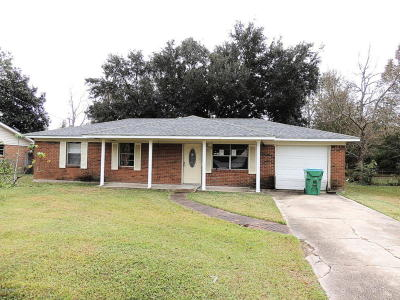 Gulfport Single Family Home For Sale: 11840 Klein Rd