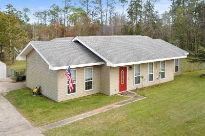 Waveland Single Family Home For Sale: 814 St Joseph St