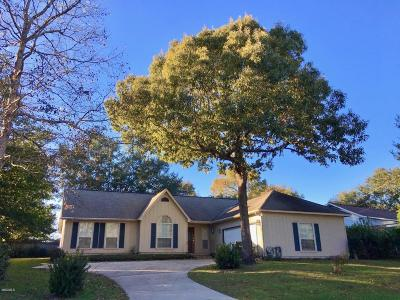 Diamondhead Single Family Home For Sale: 6620 Alii Place