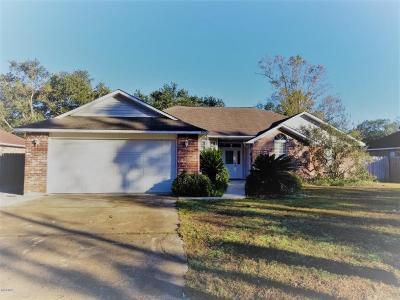 Ocean Springs Single Family Home For Sale: 8516 Clamshell Ave