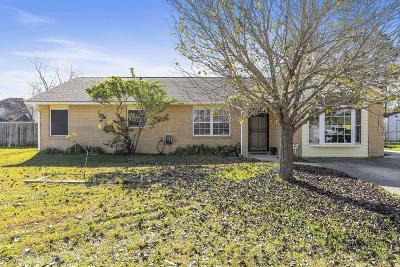 Ocean Springs Single Family Home For Sale: 12509 Ponce De Leon Dr