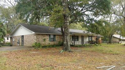 Gulfport Single Family Home For Sale: 14496 McDaniel Ln