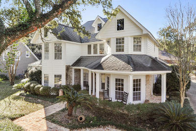 Gulfport Single Family Home For Sale: 25 Old Oak Ln