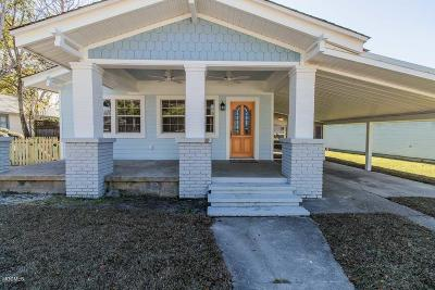 Bay St. Louis Single Family Home For Sale: 354 Main St
