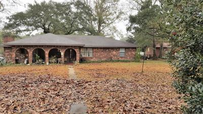 Waveland Single Family Home For Sale: 1508 Breland St