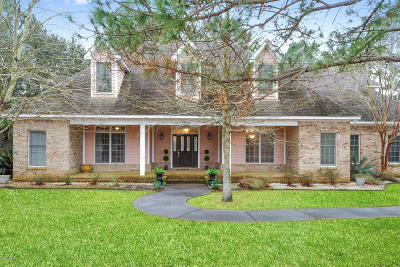Gulfport Single Family Home For Sale: 12549 S Lake Forest Dr