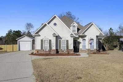 Gulfport Single Family Home For Sale: 15349 Swan Ct