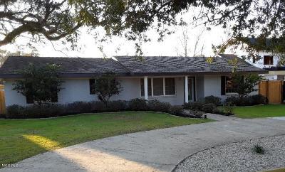 Ocean Springs Single Family Home For Sale: 277 Holcomb Blvd