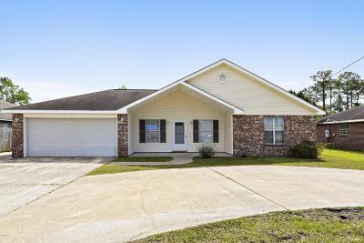 Ocean Springs Single Family Home For Sale: 3306 Beachview Dr