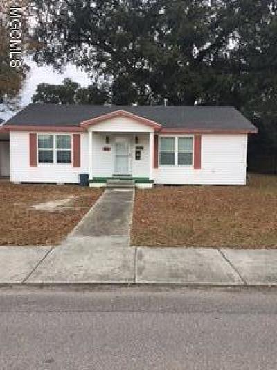 Bay St. Louis Single Family Home For Sale: 315 Demontluzin Ave