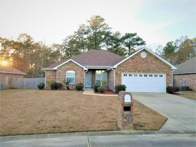 Ocean Springs Single Family Home For Sale: 11813 Alexis Ln