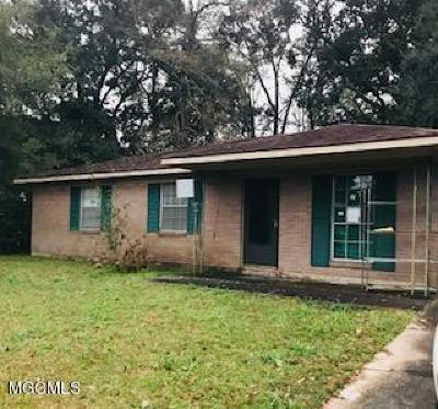 Gulfport Single Family Home For Sale: 2005 Switzer Rd