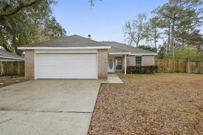 Ocean Springs Single Family Home For Sale: 11709 Quail Creek Dr