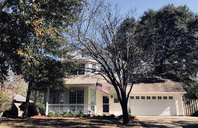 Ocean Springs Single Family Home For Sale: 2808 Hickory Ln