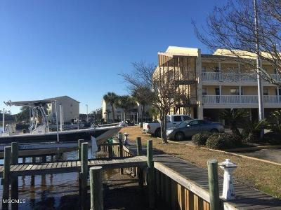 Ocean Springs Condo/Townhouse For Sale: 2421 Beachview Dr #H05