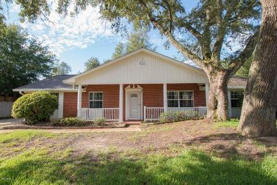 Gulfport Single Family Home For Sale: 2510 Palmer Dr