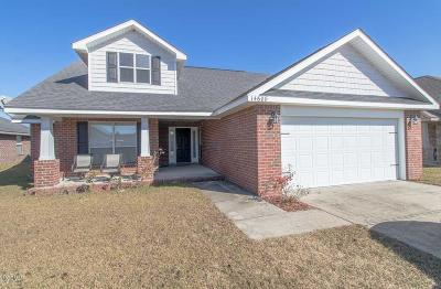 Gulfport Single Family Home For Sale: 14608 Canal Crossing Blvd