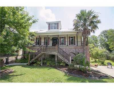 Gulfport Single Family Home For Sale: 1502 Mill Rd
