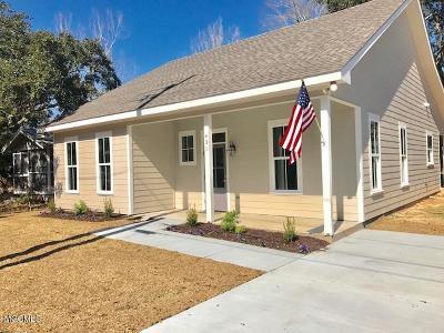 Bay St. Louis Single Family Home For Sale: 431 Demontluzin Ave