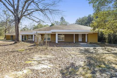 Pass Christian Single Family Home For Sale: 10245 Firetower Rd